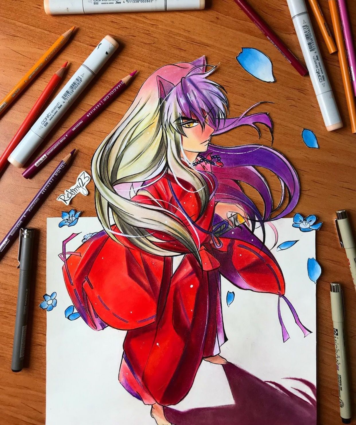 Inuyasha By Relamy23 Visit Our Website For More Anime And Animeart Manga Kagome Don T Forget To Follow Our Boards F Anime Artwork Anime Art