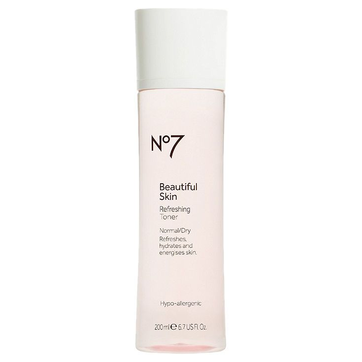 Boots No7 Beautiful Skin Refreshing Toner Normal/Dry 6.7 fl oz