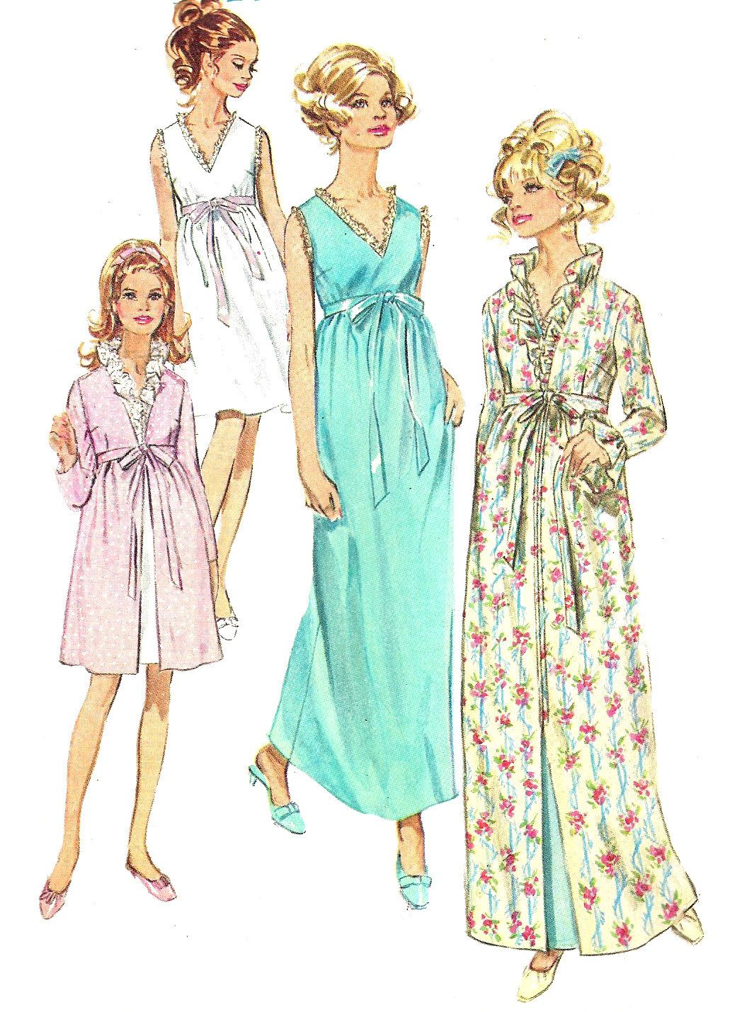 Robe Sewing Pattern Best Decorating Ideas