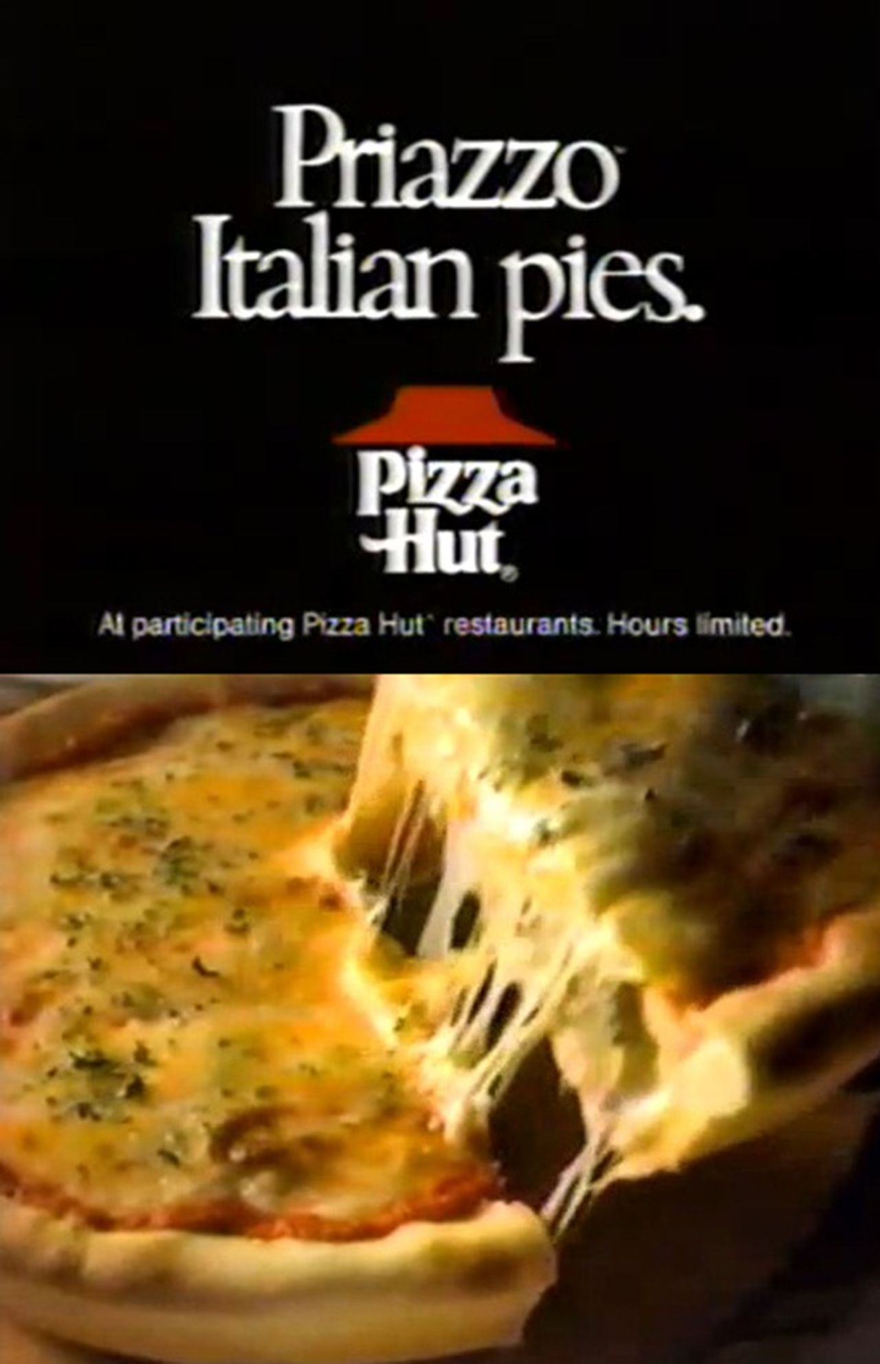 Pizza Hut Priazzo The BEST Thing They Ever Had Why Did They Stop - Pizza hut table rock lake