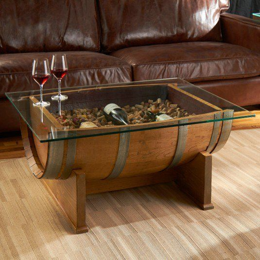 Table Baril vin baril | truc idees astuces | pinterest | whiskey barrel coffee