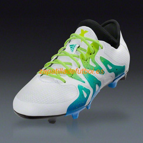 brand new 00236 f5c57 Comprar Zapatillas Futbol Adidas X 15.1 FG AG Blanco Semi Limo Solar Core  Negro