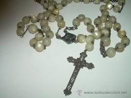 Resultado de imagen para rosarios de nacar