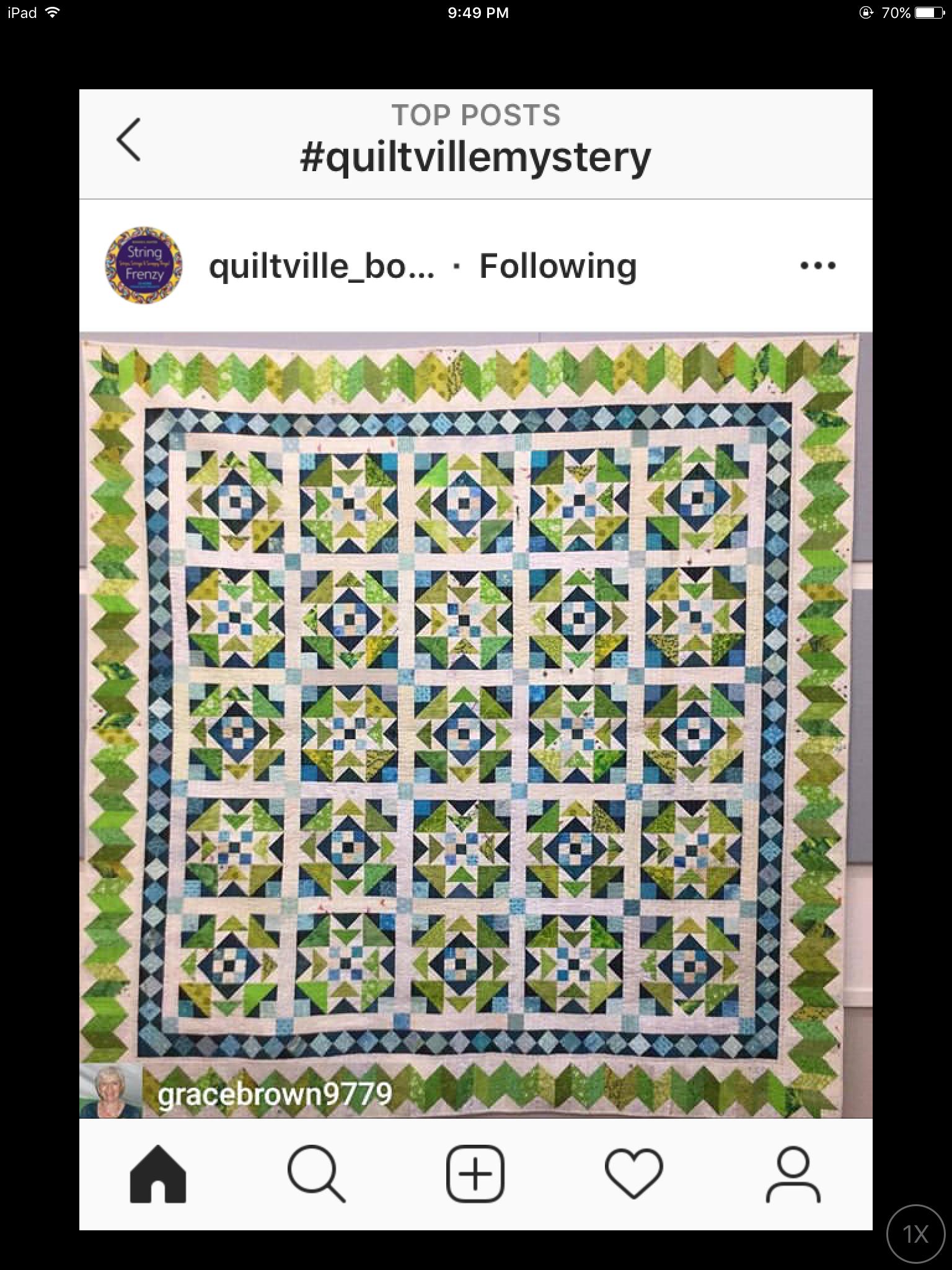 Quiltville Mystery Quilt 2020 : quiltville, mystery, quilt, Sabine, Kissen, Quiltville,, Quilts,, Bonnie, Hunter