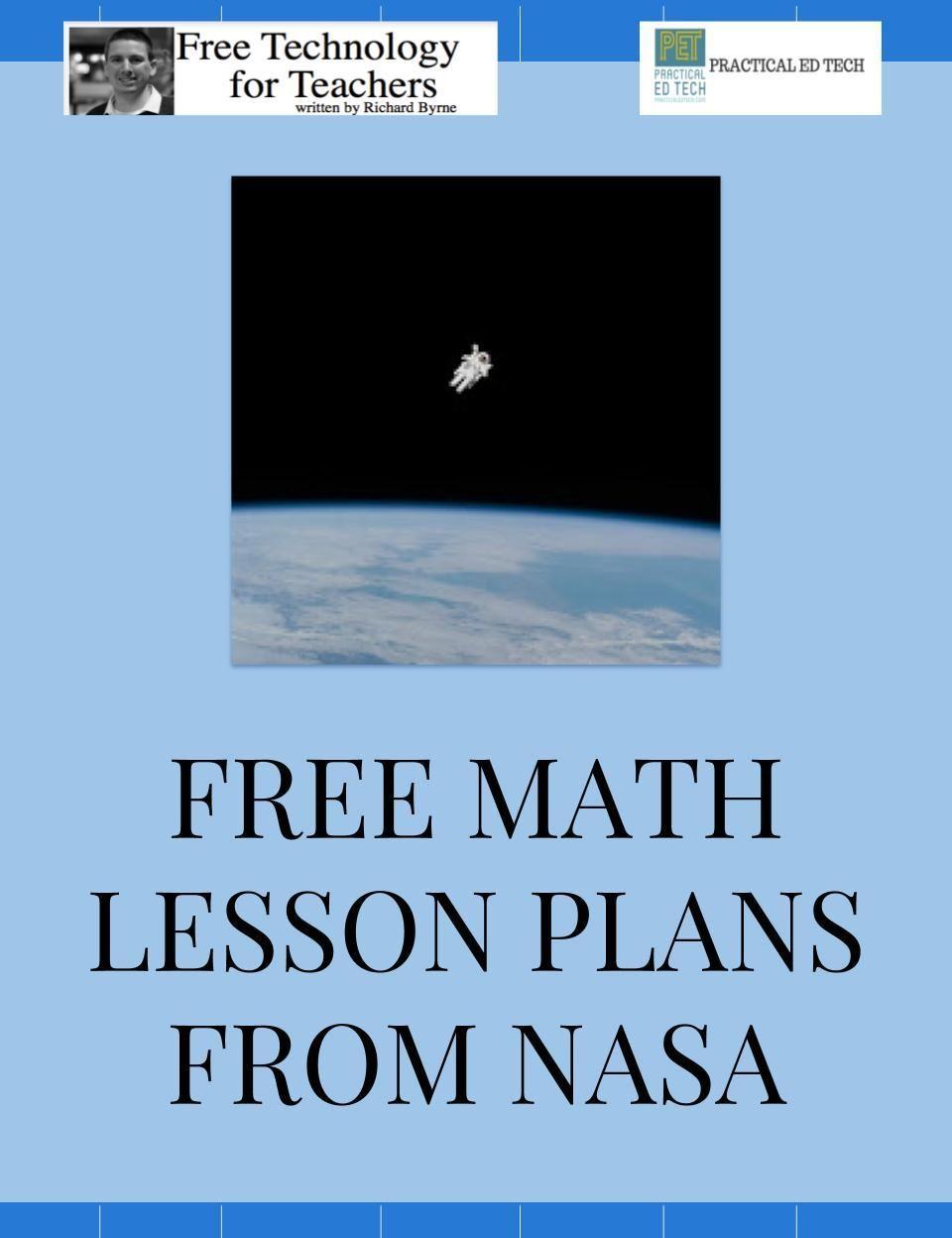 Free Math Lesson Plans from NASA | Math lesson plans, Math ...