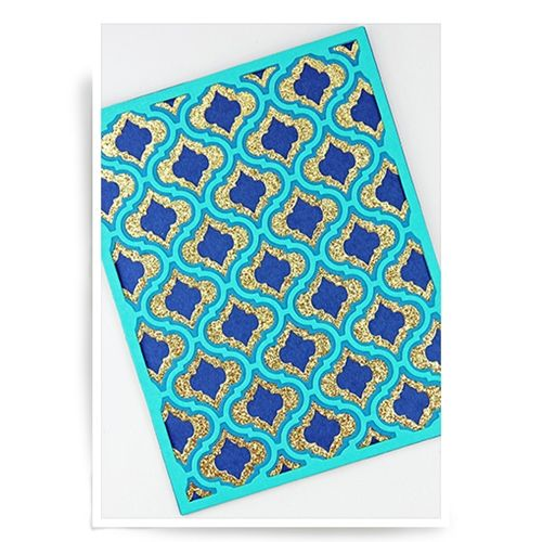 Birch Press Design DELFINA LAYER SET Blueprint Craft Dies 57029 - fresh blueprint paper color