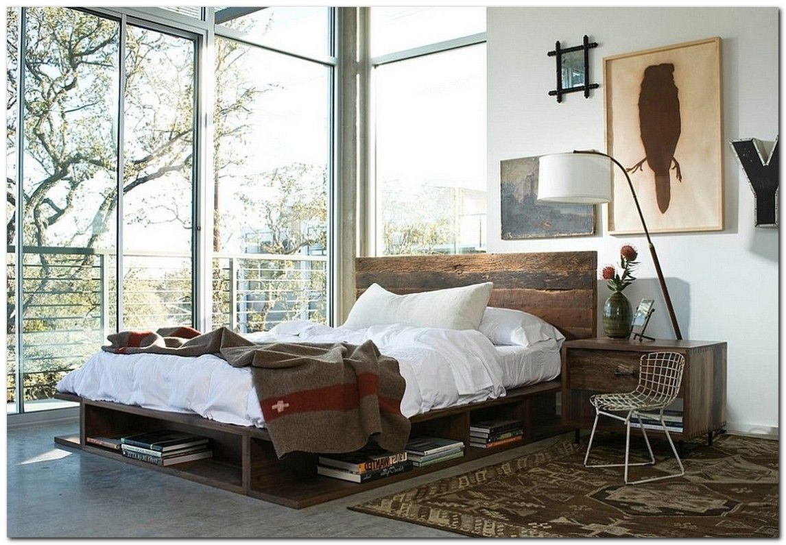 90 Industrial Chic Bedroom Designs You Will Be Love Chic