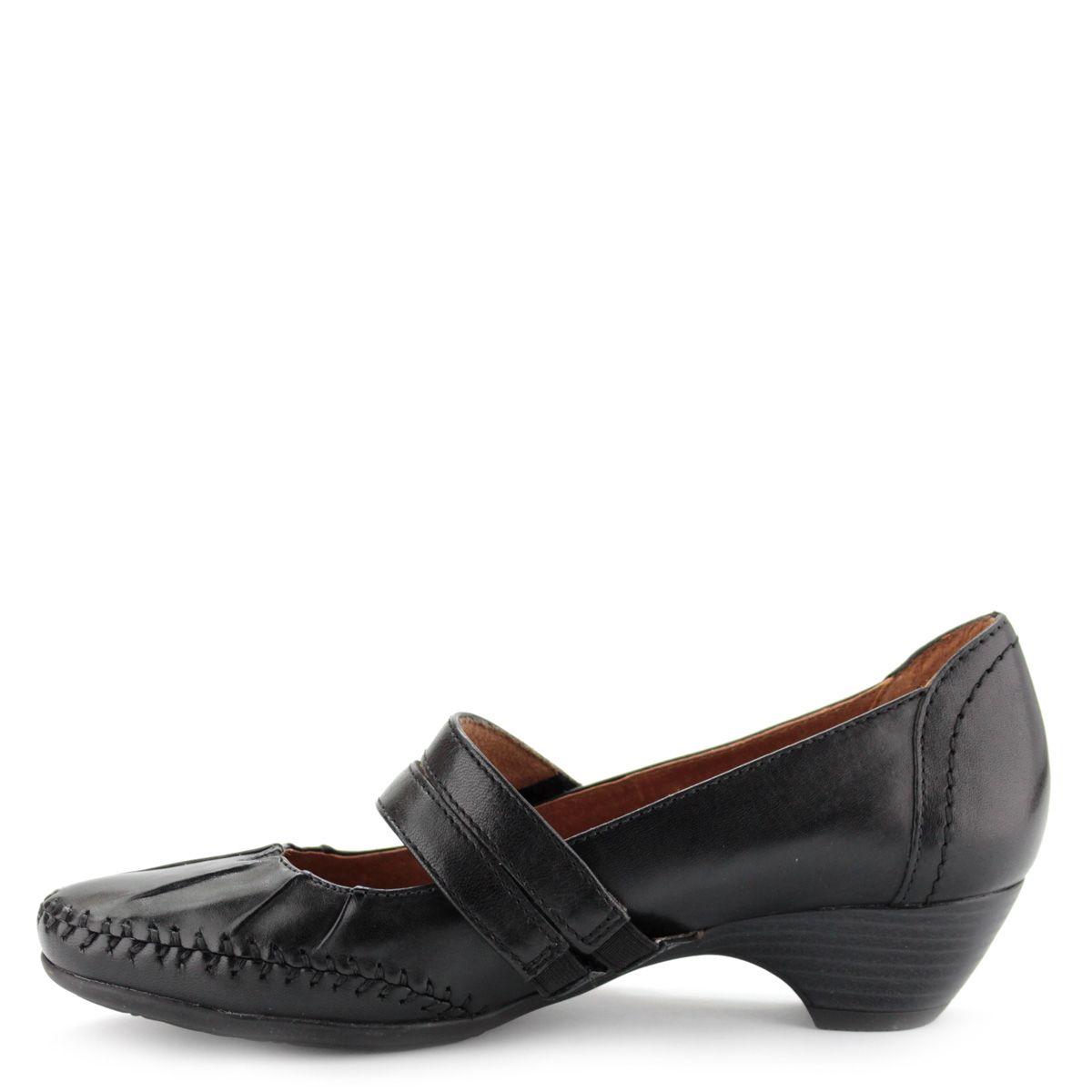 cd92f139d0 Fekete színű pántos Jana bőrcipő | ChiX.hu cipő webáruház Pántos, tépőzáras  Jana cipő, a Jana Natural kollekciójának tagja, kívül-belül vajpuha bőrből.