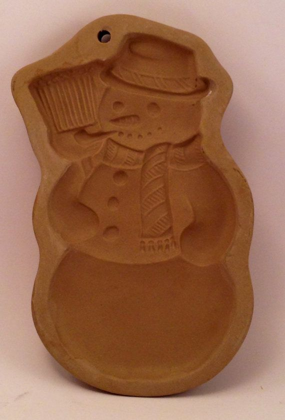 Brown Bag Cookie Art Snowman 1989 Hill Design by Jhollas on Etsy