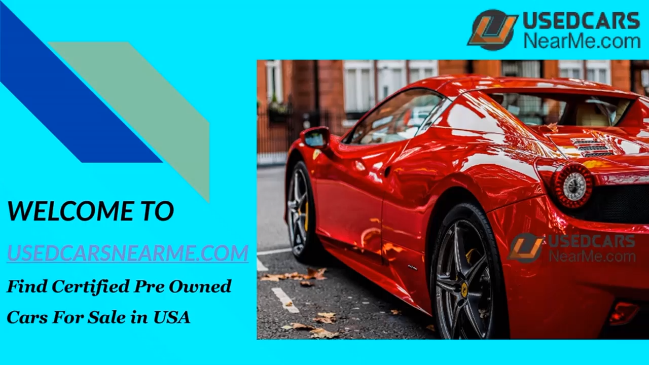 Buy Car Usa >> Used Cars Near Me Buy Certified Pre Owned Cars In Usa