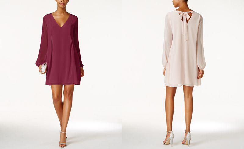 a33c8d6c63a BCBGeneration Chiffon Cocktail Dress - Dresses - Women - Macy s ...