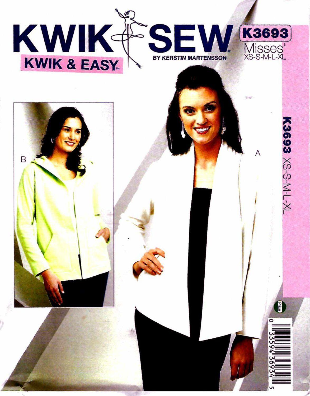 Kwik Sew 3608 Misses Strapless Swimsuits Sewing Pattern Sz XS-XL