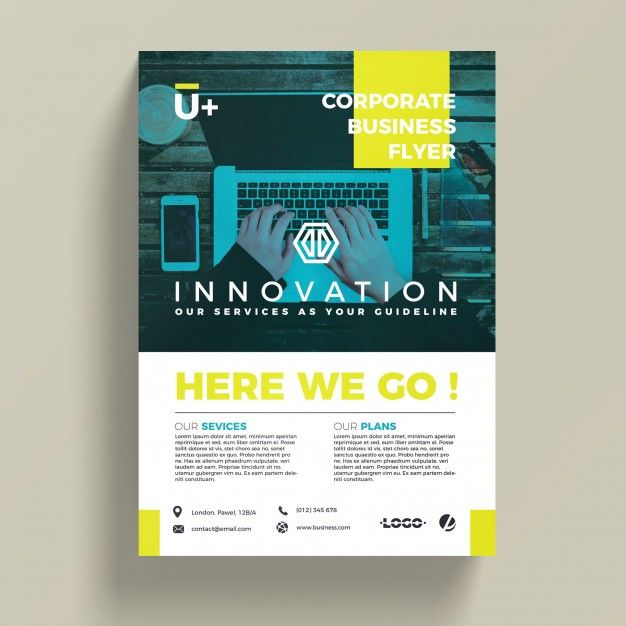 innovative corporate business flyer template free psd httpifttt2o18ma1