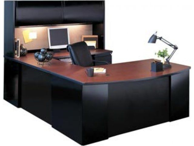 Exec U Shaped Office Desk With Hutch A Beautiful Office