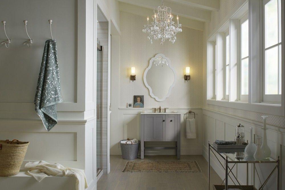 nantucket prep bathroom  kohler ideas  bathroom design