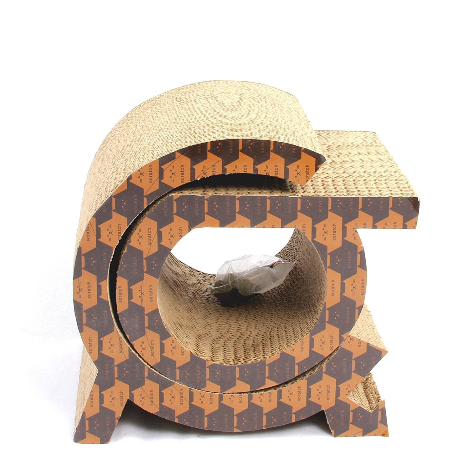 purrrfect life Fun Holiday Themed Cat Scratcher for Cats * Quickly view this special cat product, click the image : Cat scratcher