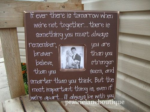 Winnie The Pooh Quote Picture Frame If There Ever Comes A Time