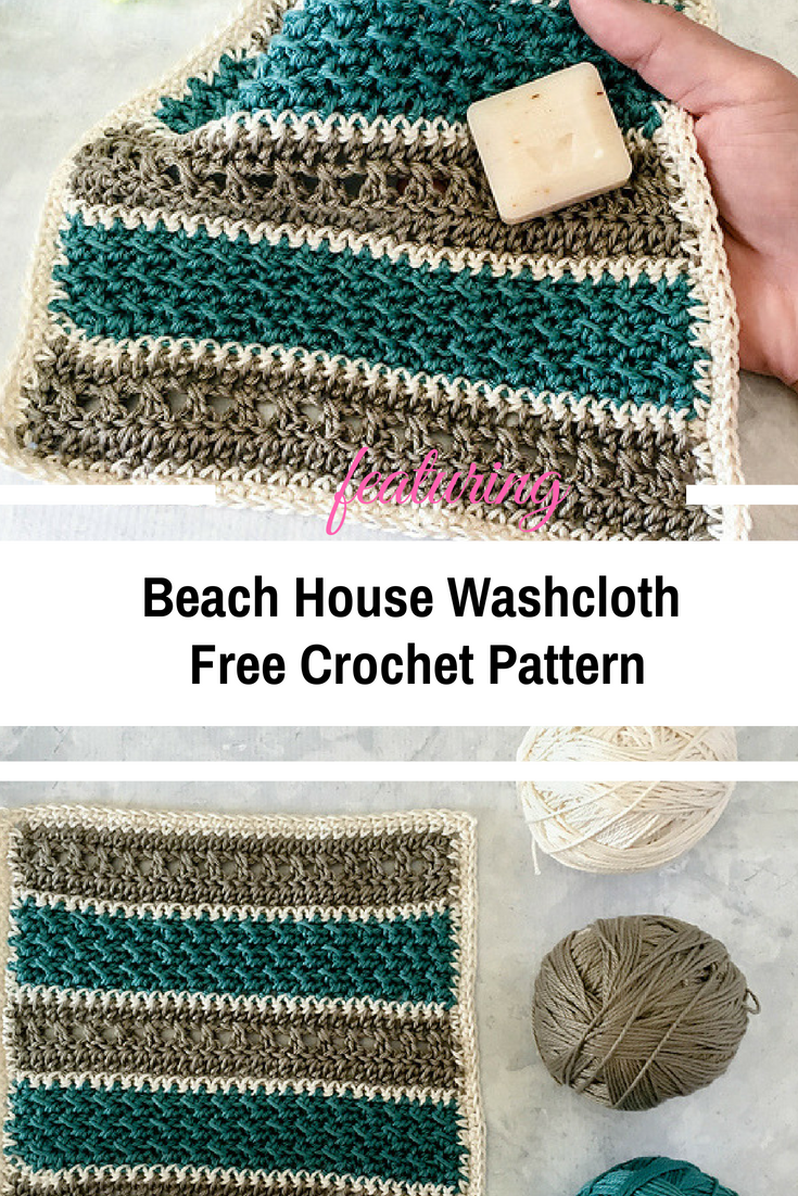 Simple, Beautifully Textured Washcloth | Crochet this and that ...