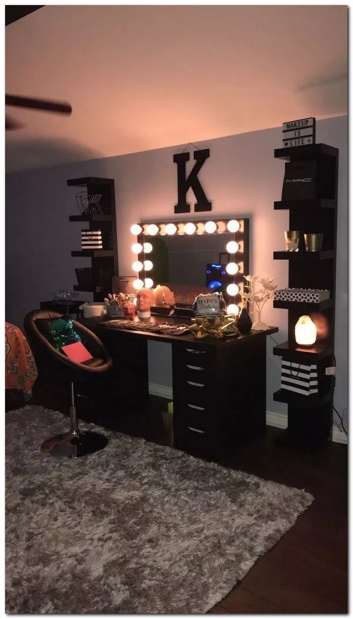 Pin on makeup rooms