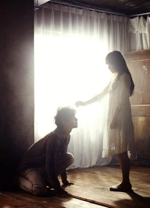 "Song Joong Ki & Park Bo Young starring in ""A Werewolf Boy"""