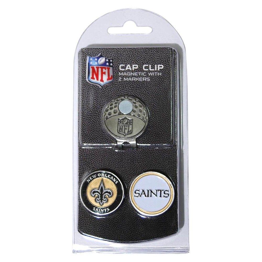 New Orleans Saints 2 Marker Cap Clip, Black