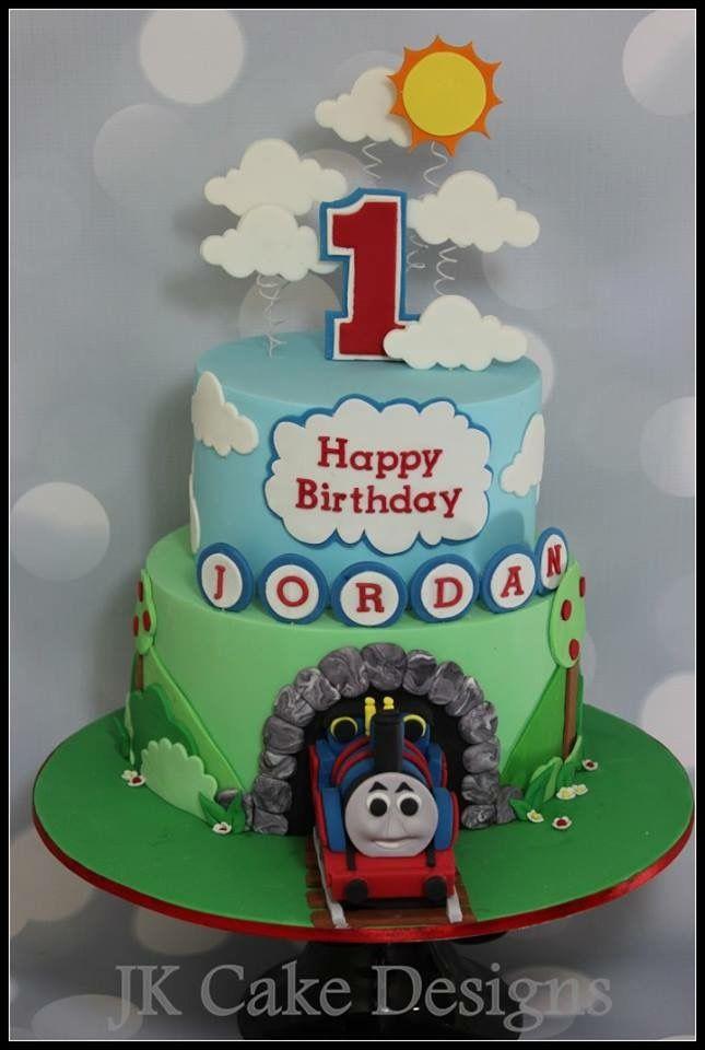 Pleasant Thomas The Tank Engine Cake With Images Thomas Birthday Funny Birthday Cards Online Inifofree Goldxyz