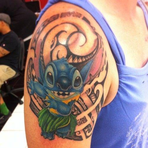 Hula Hula Stitch Inked