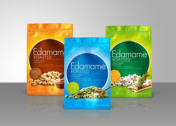 Edamame packaging | Unique | Pinterest | Package design, Design ...