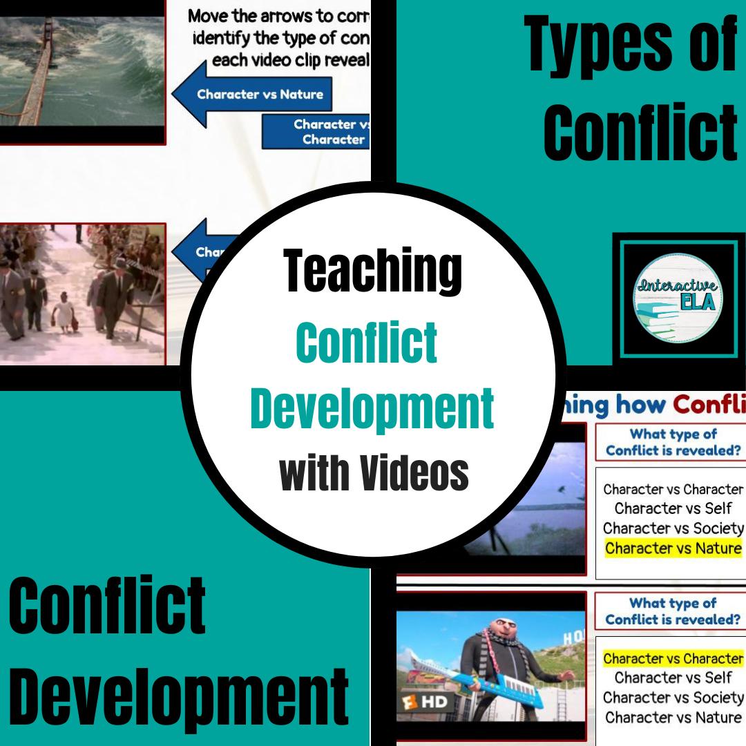 Distance Learning Plot Development Conflict Development
