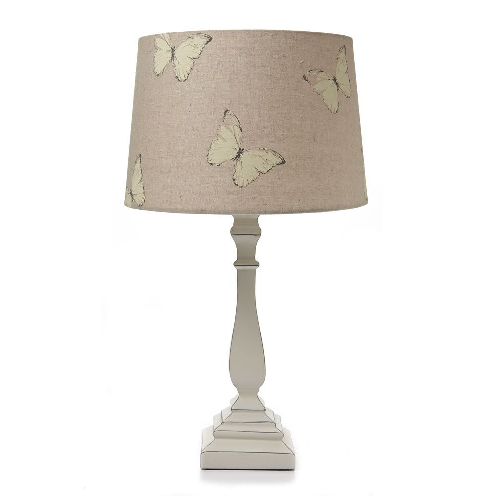 Wilko French Butterfly Lamp at wilko.com £22 | Guest bedroom ...