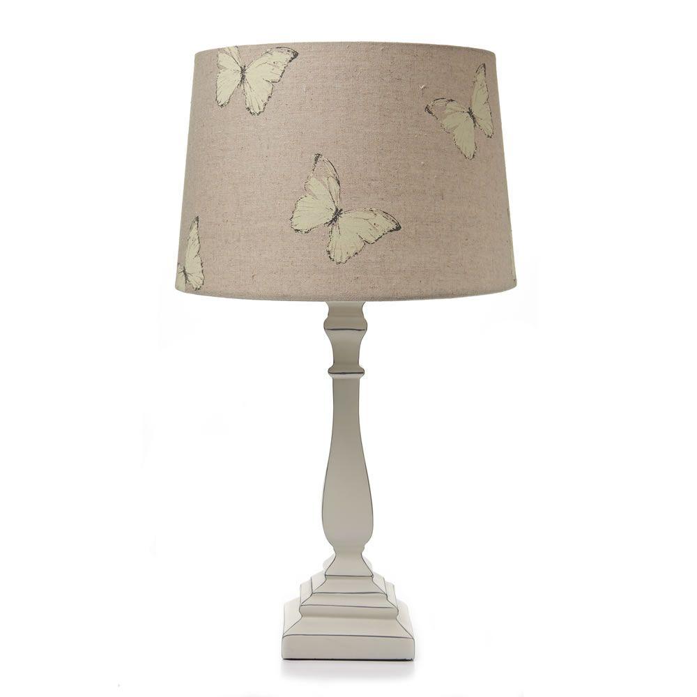 Wilko French Butterfly Lamp