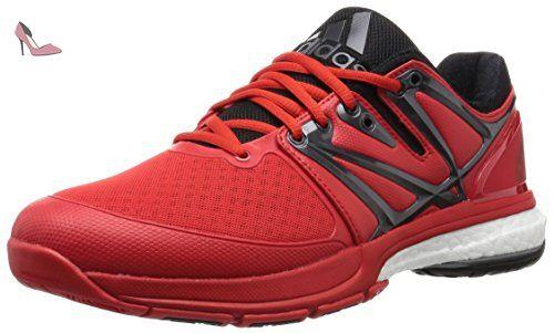 online store 99d72 b2971 adidas Stabil Boost, Chaussures de Handball Homme, Multicolore-Rojo   Negro  (Rojint   Negbas   Nocmét), 41 1 3 EU - Chaussures adidas ( Partner-Link)