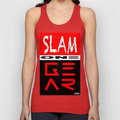 SLAM ONE GEAR Unisex Tank Top by SLAM ONE GEAR - $22.00