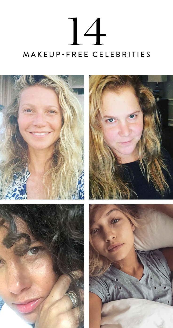 Sometimes We Just Feel Like Going Au Naturel Or Maybe It S Because We Slept Through Our Alarm Clock Actress Without Makeup Celebs Without Makeup Without Makeup