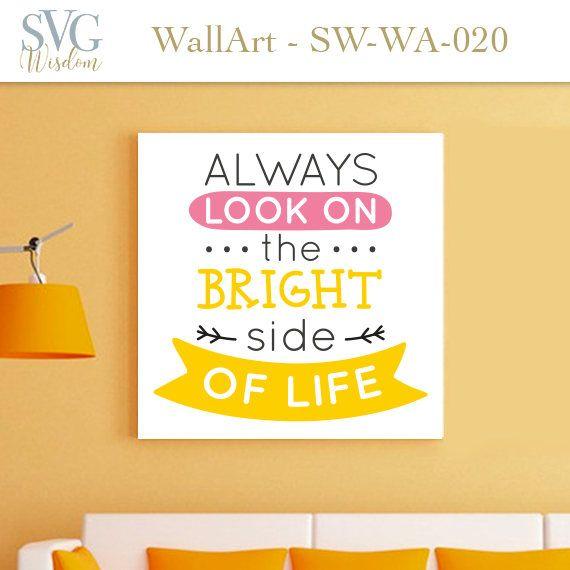 MOTIVATIONAL Phrase wall art printable cricut silouette studio cameo ...