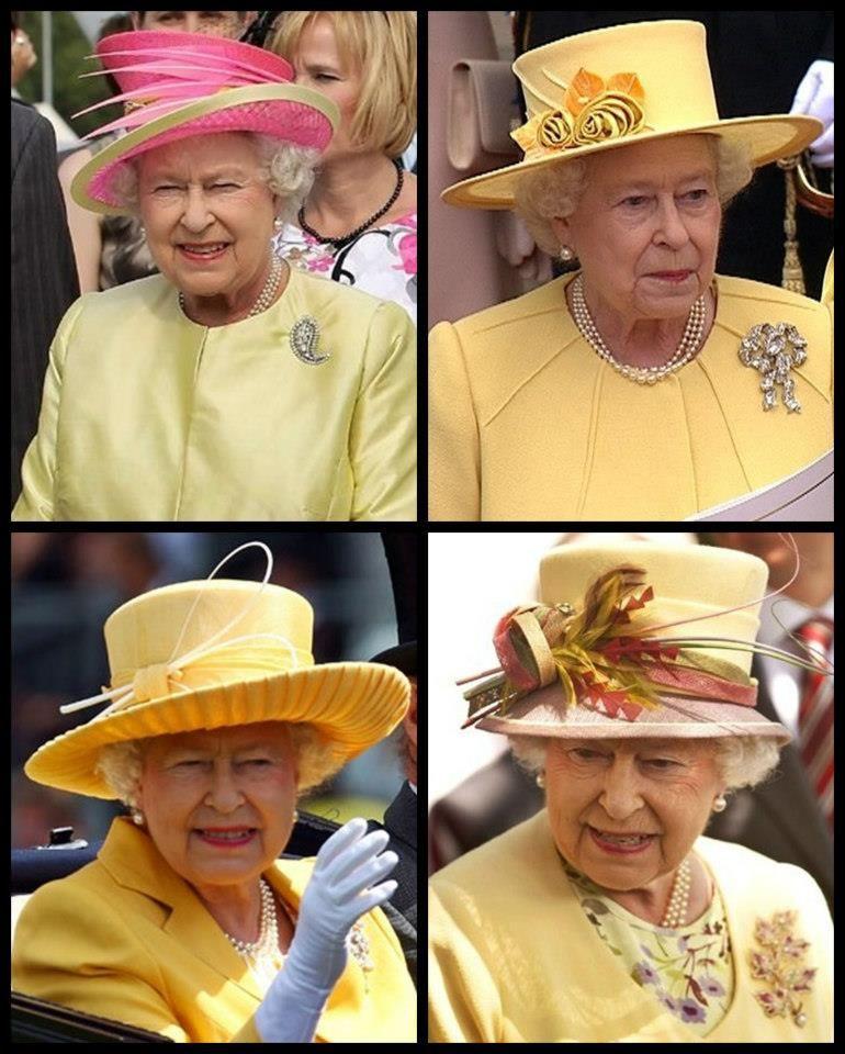 Sombreros Reina Isabel II  a0fb772ac17