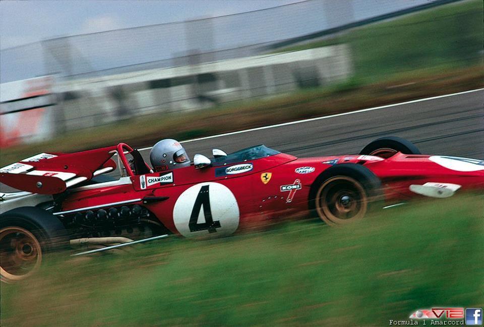 Mario Andretti-Zandvoort 1971-Ferrari 312B
