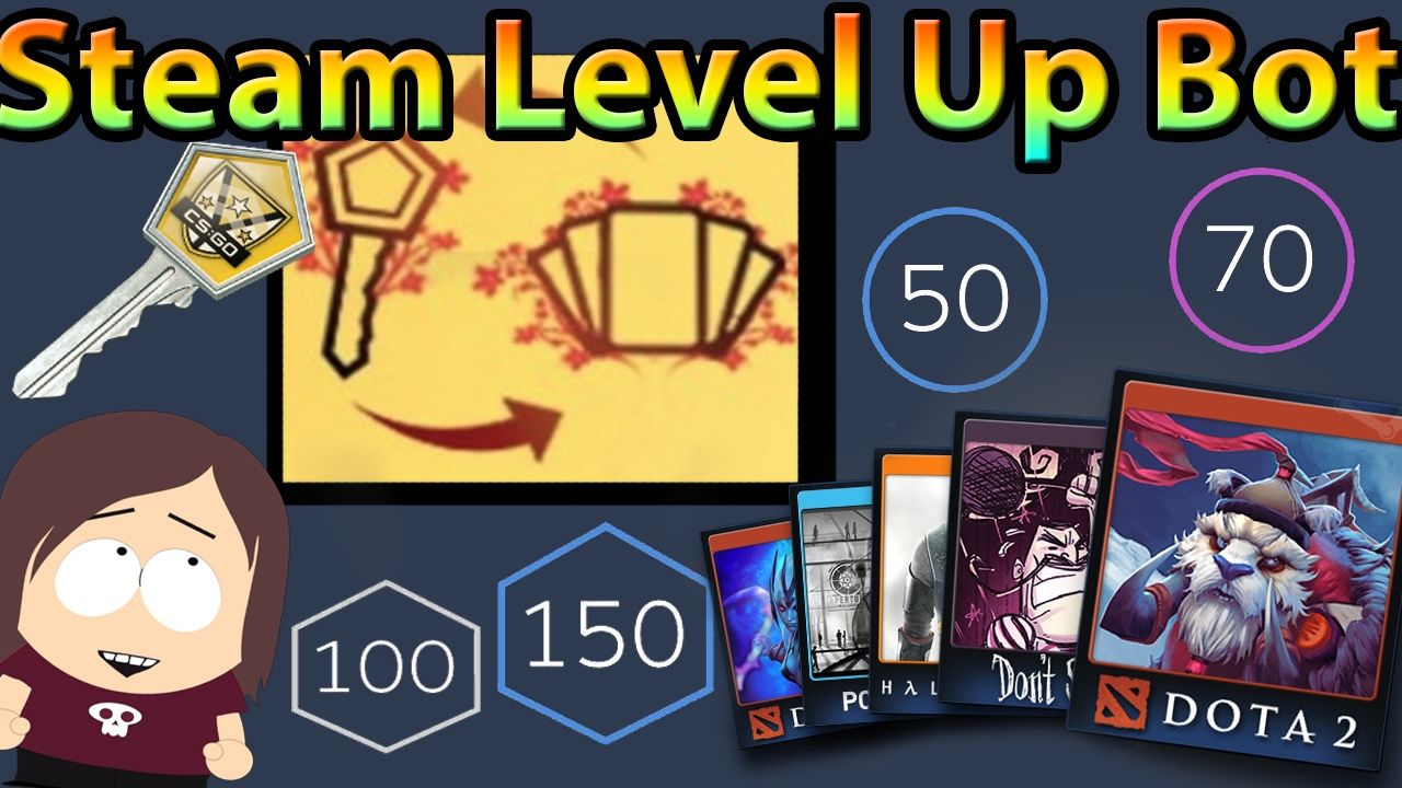 Steam Level Up Bot The Easiest Way To Craft Badges Level Up On Steam Level Up Badge Steam