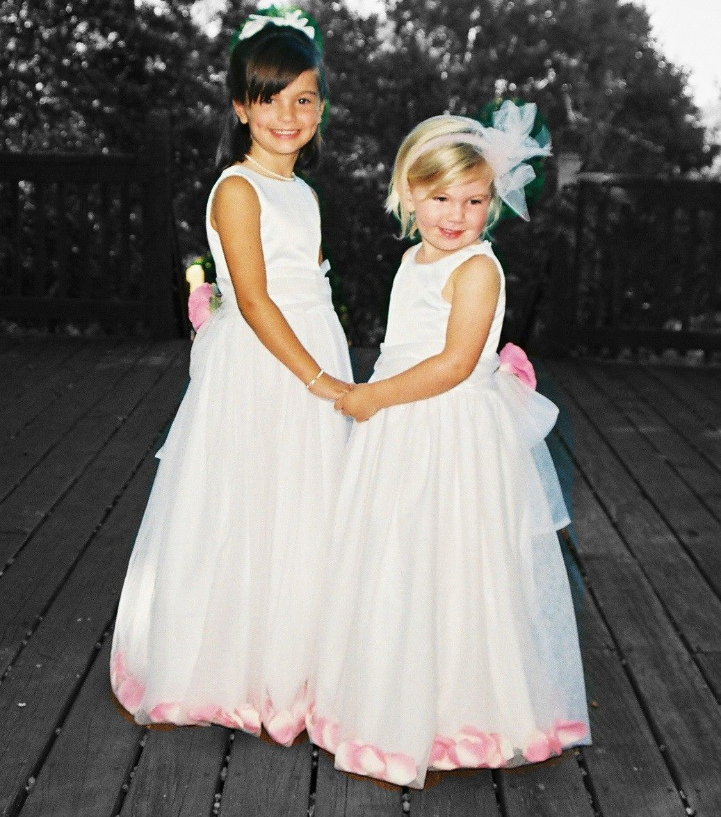 The Flower Girls Dresses Again The Flowers Will Be All Camoflauge