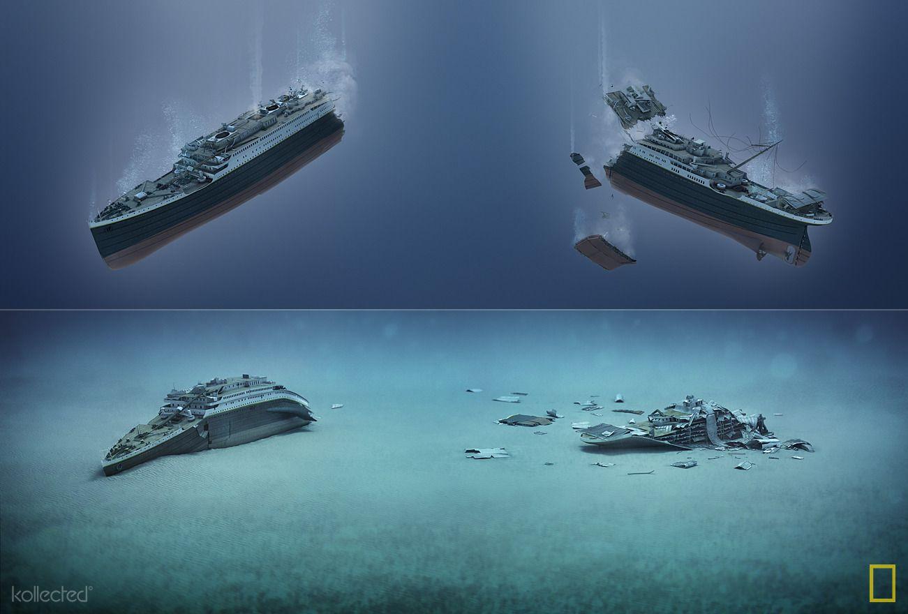 Titanic 100 years kollected hist ria pinterest - Construccion del titanic ...