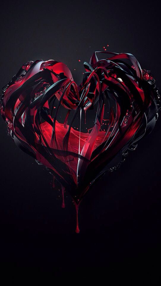 Pin By Anessa Ward On Wallpapers Broken Heart Tattoo Heart Wallpaper Dark Love