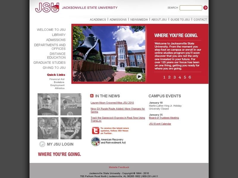 Jacksonville State University Jsu Is A Regional Public