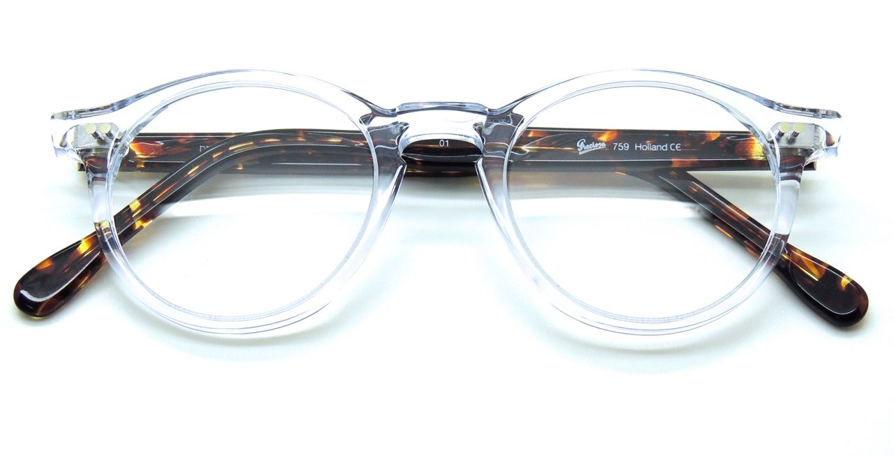 The Old Glasses Shop - Frame Holland 759 Hand Made Preciosa Clear ...