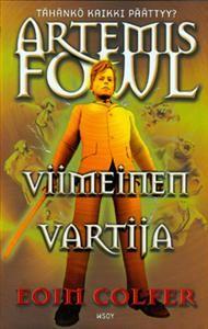 Artemis Fowl Viimeinen Vartija Eoin Colfer Artemis Fowl Literature Reading
