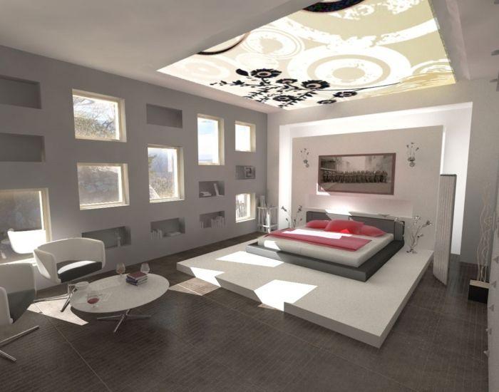 Farbgestaltung Wohnzimmer Wandgestaltung Wanddesign Grau