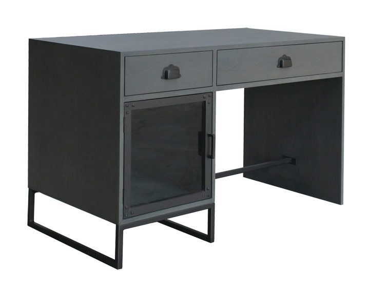 Bureau Shadow Meuble Acier Deco Design Mobilier De Salon