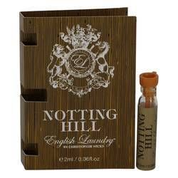 Notting Hill Vial Sample By English Laundry Red Perfume Blue