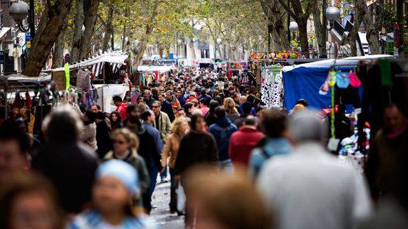 El Rastro Madrid.  El mejor mercado!