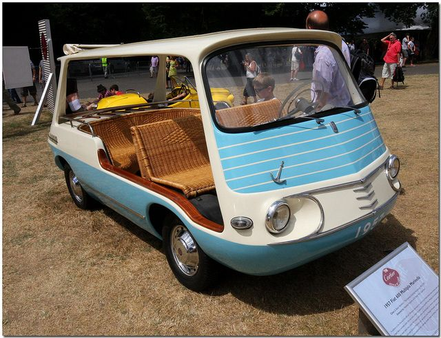 1958 Fiat Multipla Marinella Goodwood Festival Of Speed 2010