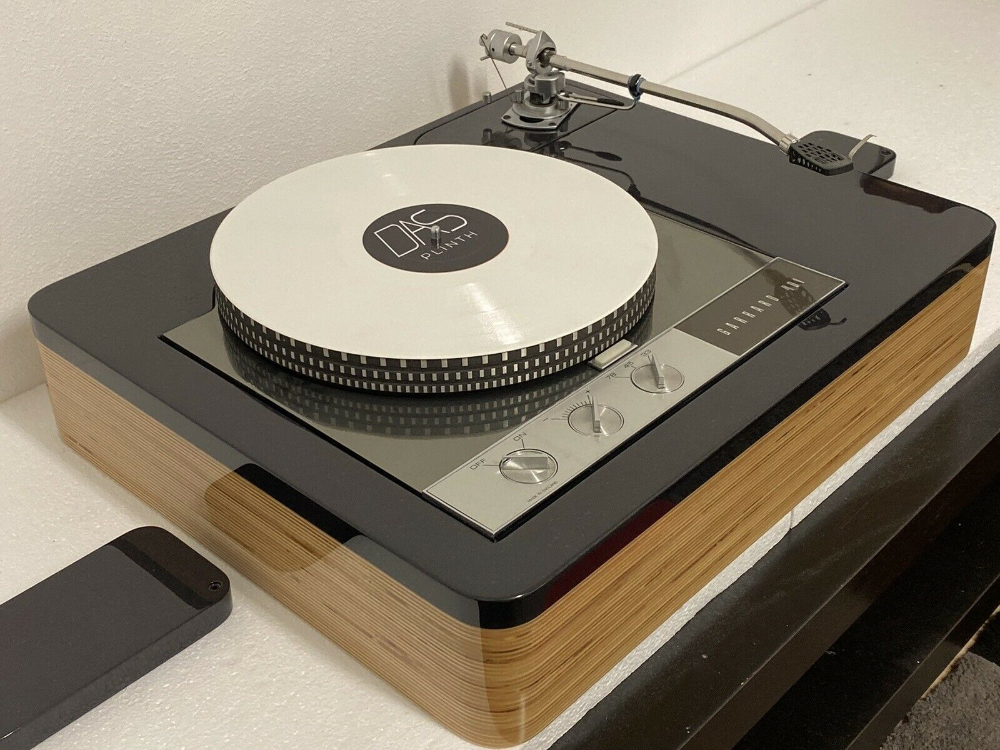Lacquert Hq Birch Plywood Black Mdf Garrard 401 Long Version 9 12 Plinth Ebay Garrard Turntable Turntable Things To Sell